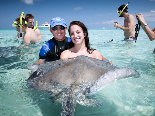 Grand Cayman marine preserve snorkeling Cruise Excursion