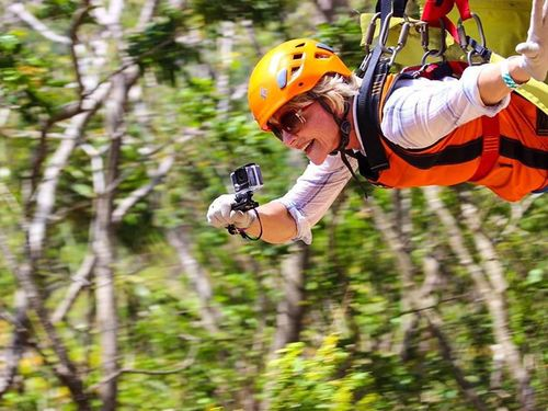 Roatan zip line Excursion Reservations