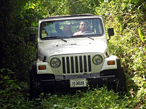 Belize Jeep Trip Reservations