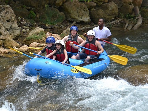 Montego Bay  Jamaica class 2 rapids Excursion