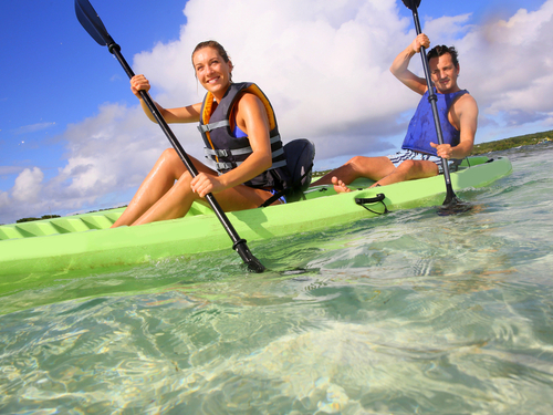 Falmouth lagoon kayaking Shore Excursion Reservations