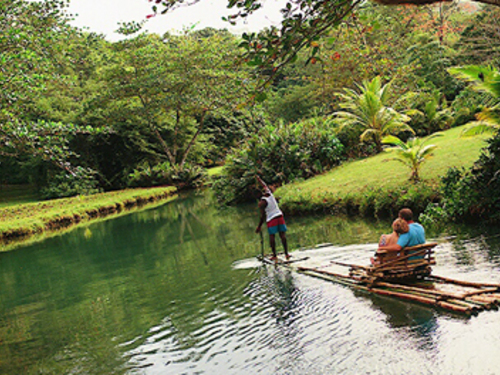 Montego Bay bamboo river raft Trip Booking