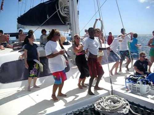 Montego Bay  Jamaica Freestyle catamaran sailing Reservations