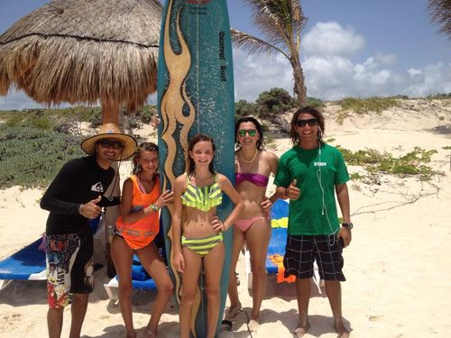 Cozumel surfing lessons Cost
