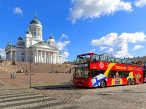 Helsinki Hop On Hop Off City Sightseeing Bus Excursion