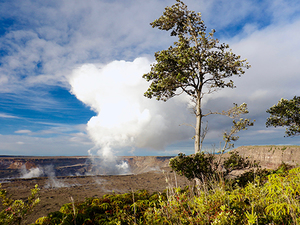 Hilo Exclusive Volcano National Park and Rainbow Waterfall Excursion