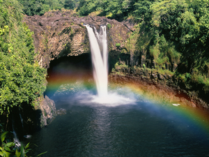Hilo Volcanoes National Park and Rainbow Falls Excursion