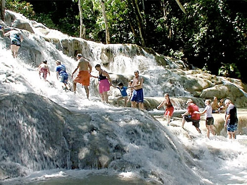 Falmouth  Jamaica waterfall climb Cost