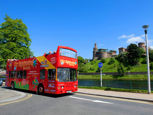 Invergordon Hop On Hop Off City Sightseeing Bus Excursion in Inverness