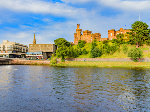 Invergordon (Inverness)  Scotland Bishops Road Bus Cruise Excursion Prices