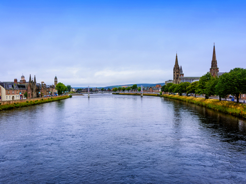 Invergordon (Inverness)  Scotland Huntly Street Bus Trip Booking