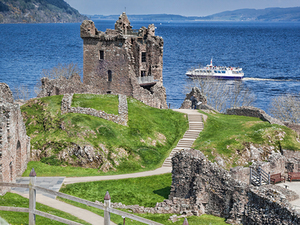 Invergordon Loch Ness, Urquhart Castle and Inverness Excursion