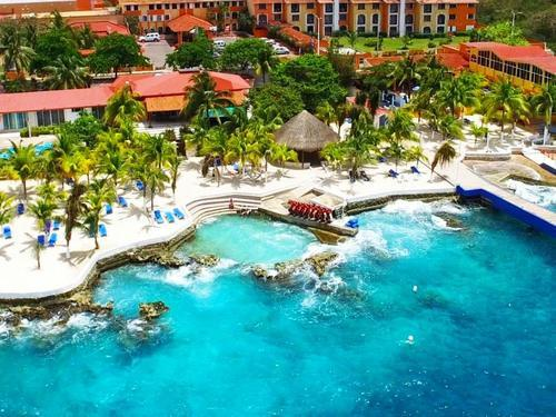 Cozumel  Mexico largest resort swimming pool Tickets