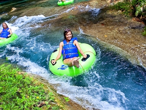 Montego Bay Jamaica falls and tubing Trip Booking