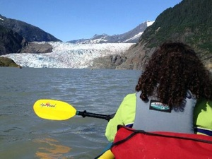 Juneau Glacier Lake Paddle Excursion
