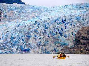 Juneau Glacier Paddle and Trek Excursion