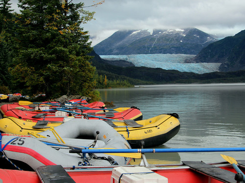 Juneau Alaska river rafting Sightseeing Trip Booking