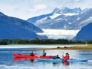 Juneau Glacier View Sea Kayak Excursion