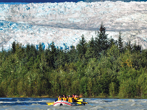 Juneau Mendenhall Glacier Float and River Rafting Excursion