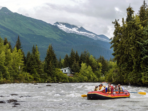Juneau river float Sightseeing Excursion Reservations