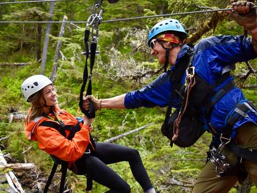 Juneau zip line Excursion Tickets