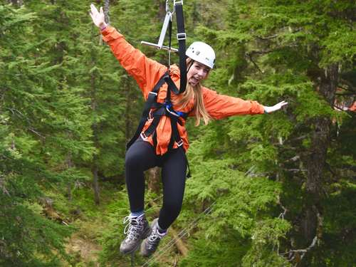 Juneau Alaska zip line Excursion Reviews