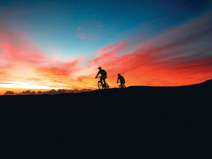 Kahului Maui Haleakala Volcano Sunrise Downhill Bike Blast Excursion