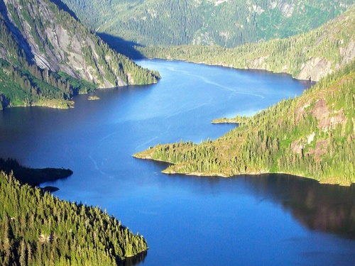 Ketchikan Alaska / USA lake landing Cruise Excursion Booking