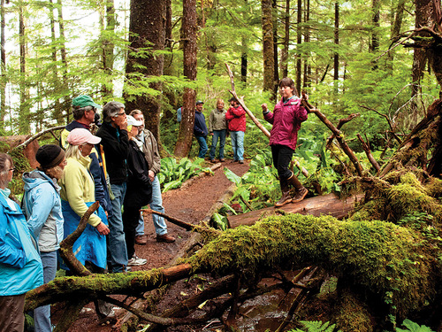 Ketchikan hike trail Shore Excursion Booking