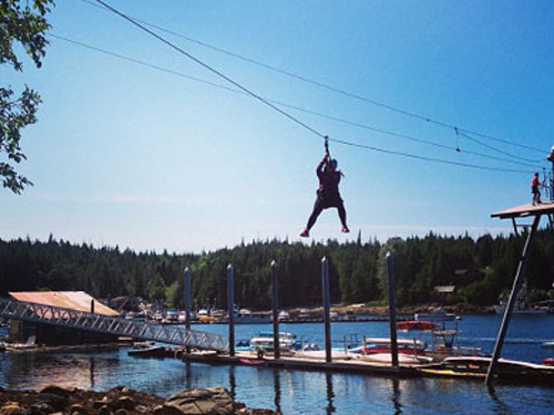 Ketchikan Zip Line park Cruise Excursion Prices