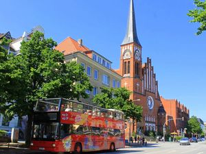 Kiel Hop On Hop Off City Sightseeing Bus Excursion