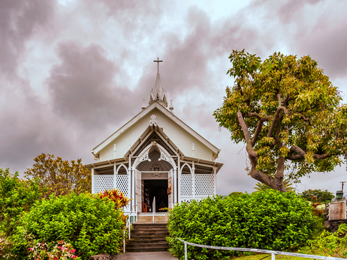 Kona (Kailua) church Cruise Excursion Tickets