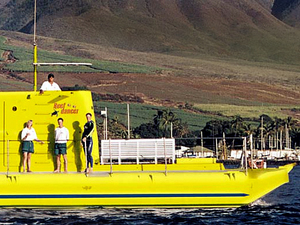 Lahaina Maui Semi Submarine Glass Bottom Boat Reef Excursion