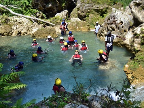 Montego Bay white water kayaking Trip