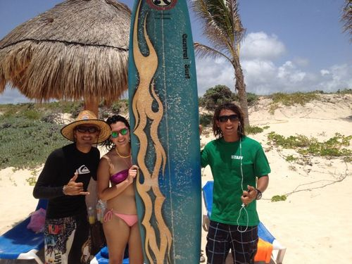 Cozumel  Mexico learn to surf Booking