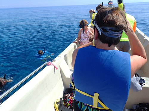 Roatan  Honduras french key Snorkel Tour Reservations