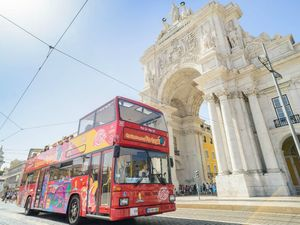 Lisbon City Sightseeing Hop On Hop Off Bus 1 Day Excursion