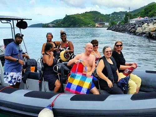 Grenada St. Georges RIB boat Cruise Excursion Cost