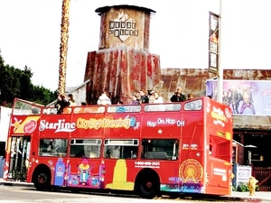 Los Angeles Hop On Hop Off Bus Sightseeing Excursion