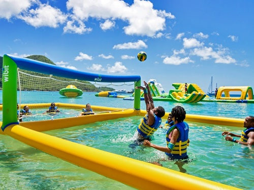 St. Lucia (Castries) Splash Island Tour Booking