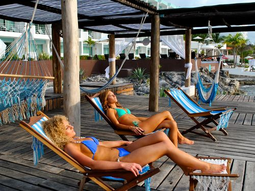 Cozumel beautiful resort Cruise Excursion