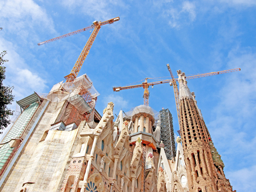 Barcelona Spain Basilica Sightseeing Shore Excursion Tickets