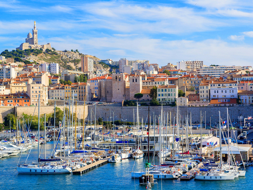 Marseilles  France Notre Dame de la Garde Bike Excursion Booking