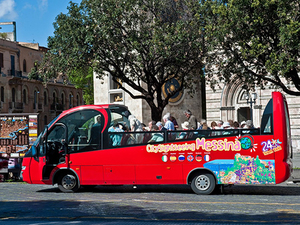 Messina City Sightseeing Hop On Hop Off Bus Excursion