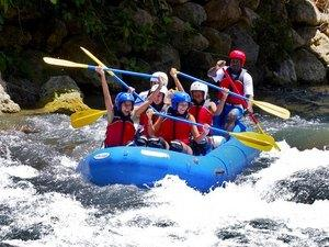 Montego Bay Bengal Falls and River Rafting Excursion