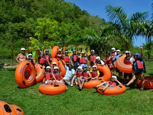 Montego Bay Bengal Falls and River Tubing Excursion