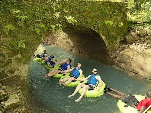Montego Bay Jamaica White River Tubing Trip Booking
