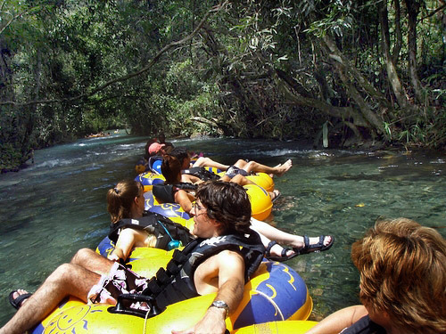 Montego Bay climbing falls Tubing Shore Excursion Booking
