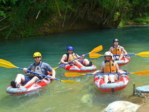 Montego Bay River Kayaking and Bengal Falls Excursion