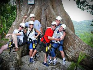 Montego Bay Tropical Jungle Off Road and Treetop Zip Line Excursion